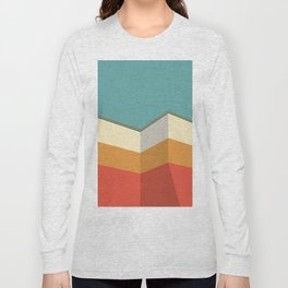 Modernist Angles Long Sleeve T-shirt