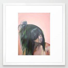 Hair Identity Framed Art Print