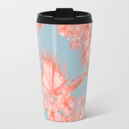 Dreaming of Hawaii Coral on Ocean Blue Travel Mug