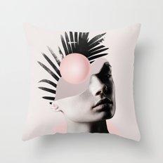 Empty mind Throw Pillow