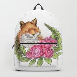 Fox in Bloom Backpack