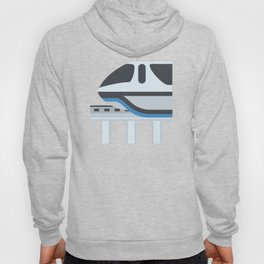 Monorail Train Emoji Hoody