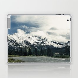 Snow Top Mountain Photography from the Canadian Rockies Laptop & iPad Skin
