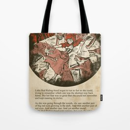 Little Red Riding Hood - Untold Ending Tote Bag
