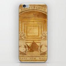 Brave New World iPhone & iPod Skin