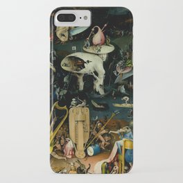 """Hieronymus Bosch """"The Garden of Earthly Delights"""" - Hell iPhone Case"""