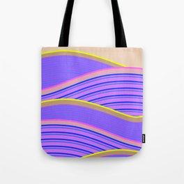 Happy Times - Lavender Hills Tote Bag