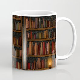 Night library Coffee Mug