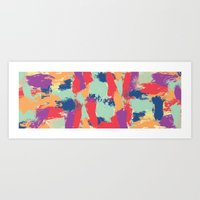 funky Art Prints featuring Funky by Georgia Dritsakou