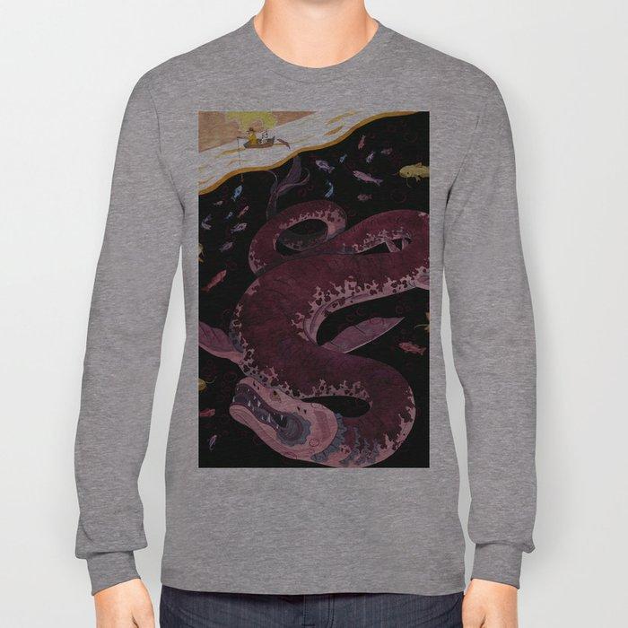 Always a Bigger Fish Long Sleeve T-shirt