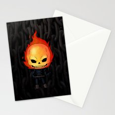 Chibi Ghost Rider Stationery Cards