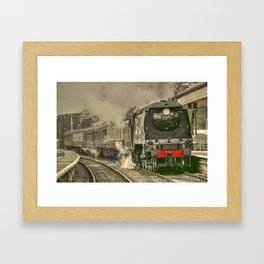 Lancashire Bulleid Framed Art Print