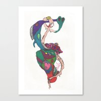 psych Canvas Prints featuring Psych by LightlyBased