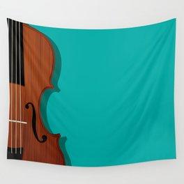 Violin Wall Tapestry