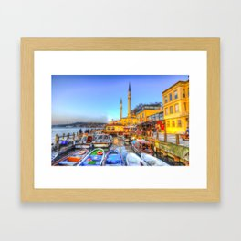 Picturesque Istanbul Framed Art Print