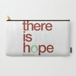 there is hope - blood:water mission  Carry-All Pouch