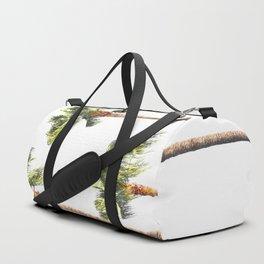 Minimal Palm Trees Threesome Duffle Bag