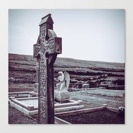 Ireland Cross Canvas Print