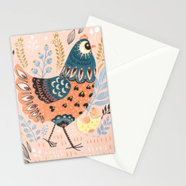 Mother Hen Stationery Cards