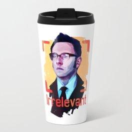 Irrellevant Travel Mug