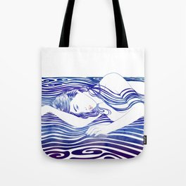 Water Nymph XXX Tote Bag