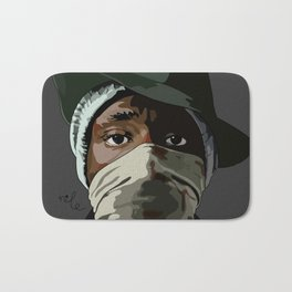 Hip Hop Mos Bath Mat