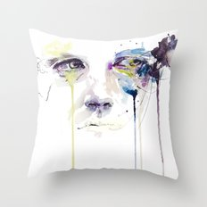 ill vision Throw Pillow