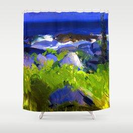 George Bellows Monhegan Island Shower Curtain