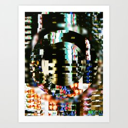 The Interference Art Print