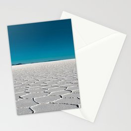 Salt Flats of Salar de Uyuni, Bolivia #2 color photography / photographs Stationery Cards