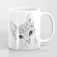 A Sketch :: Cat Eyes Mug