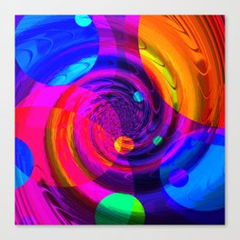Re-Created Twisters No. 10 by Robert S. Lee Canvas Print