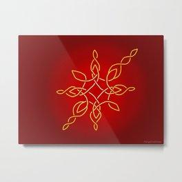 Christmas Artwork #9 (2018) Metal Print