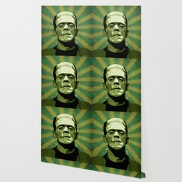 Frankenstein - Pop Art Wallpaper