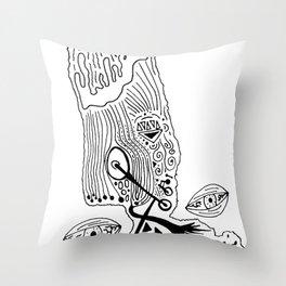 Art School Throw Pillow