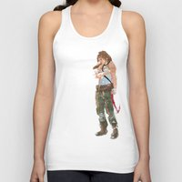 tomb raider Tank Tops featuring Tomb Raider by Robbie Drew Dixon