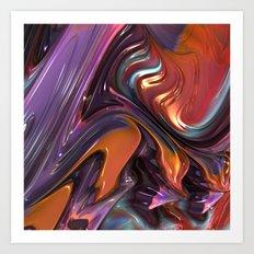 704 Fractal Art Print