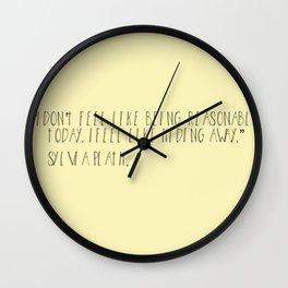 plath Wall Clock