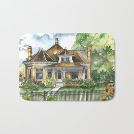 The House on Spring Lane Bath Mat