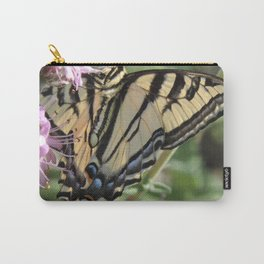 Western Tiger Swallowtail on Lemon Blossoms Carry-All Pouch