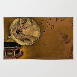 His Master's voice Rug
