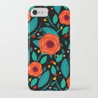 leah flores iPhone & iPod Cases featuring Flores by Ary Marín