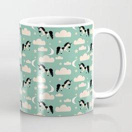 Unicorn green Coffee Mug