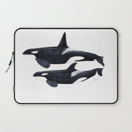 Orca male and female Laptop Sleeve