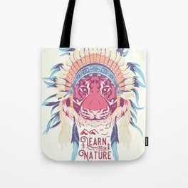 Learn from Nature Tote Bag