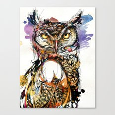 Owl Sounds Canvas Print