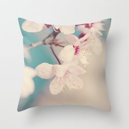 spring blossoms II Throw Pillow