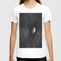 spider T-shirts featuring Spider by LadyJennD