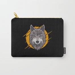 Wolf Wolves Carry-All Pouch
