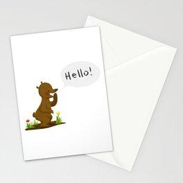 Hello bear! Stationery Cards
